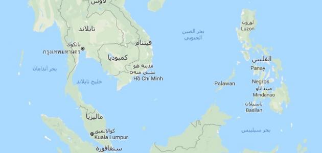 دول جنوب شرق آسيا