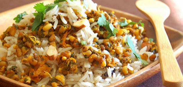 طريقة عمل الأرز البرياني
