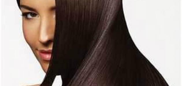 طريقة فرد الشعر بالنشا
