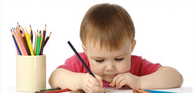 كيف أعلم طفلي كتابة الحروف