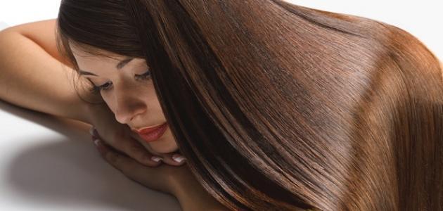 طريقة فرد الشعر بالبروتين