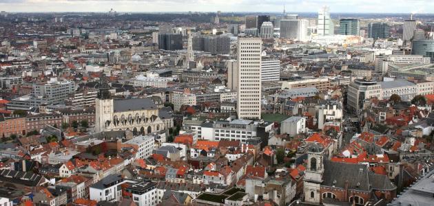 مدن بلجيكا