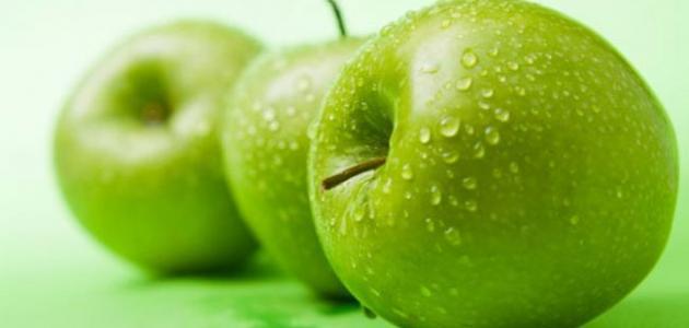 فوائد التفاح الأخضر للحامل
