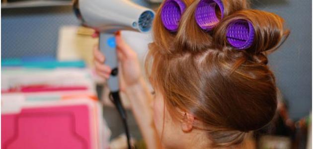 كيفية تصفيف الشعر
