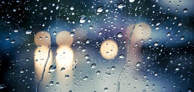 كلمات عن الشتاء والمطر