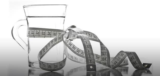 هل الماء ينقص الوزن