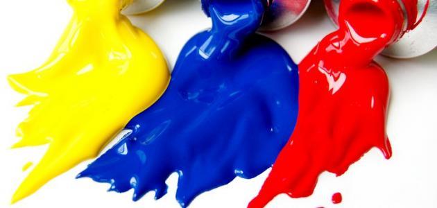 دلالة الألوان