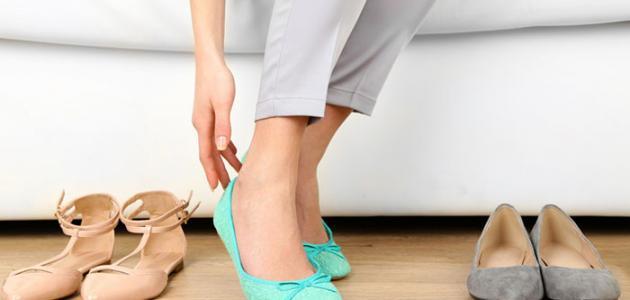 طريقة توسيع الحذاء