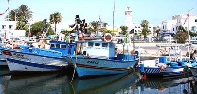 موانئ الصيد البحري بالبلاد التونسية