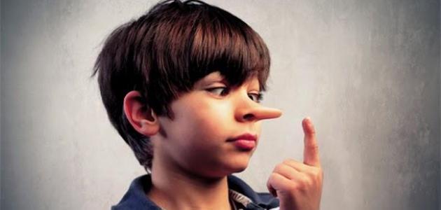 موضوع عن الكذب