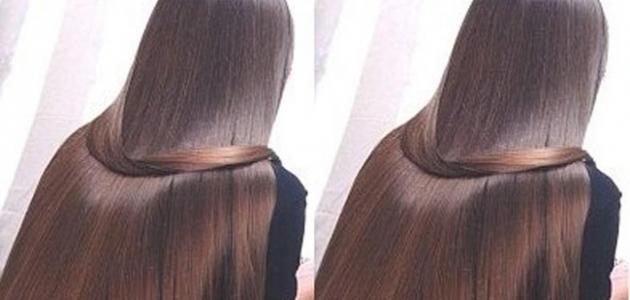 كيفية تكثيف الشعر وتطويله