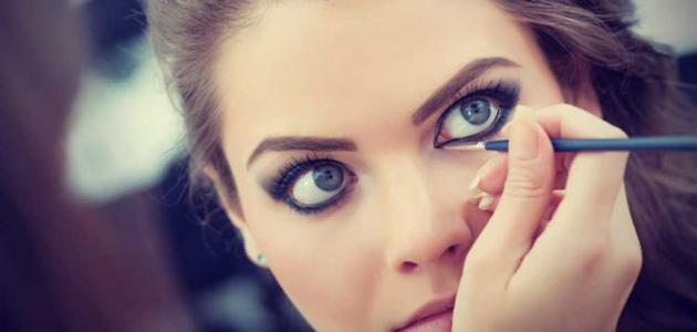 طريقة تكبير العيون
