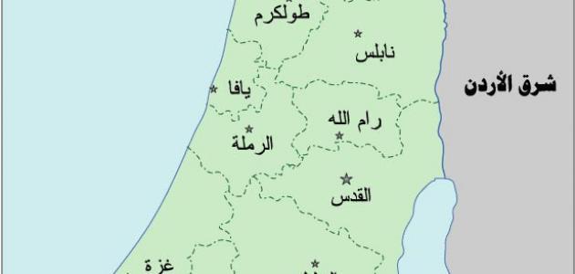 محافظات فلسطين
