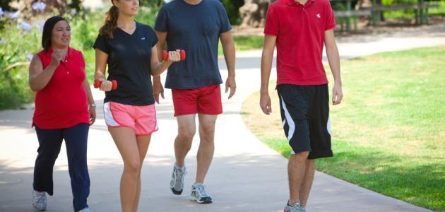 هل المشي ينقص الوزن