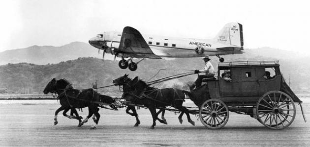 وسائل النقل القديمة والحديثة