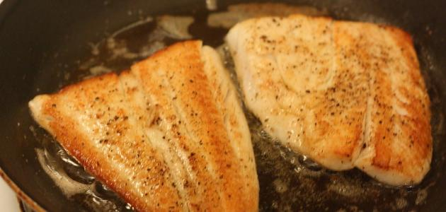 طريقة عمل السمك الفيليه المجمد