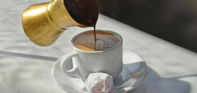 كيفية عمل القهوة العربية
