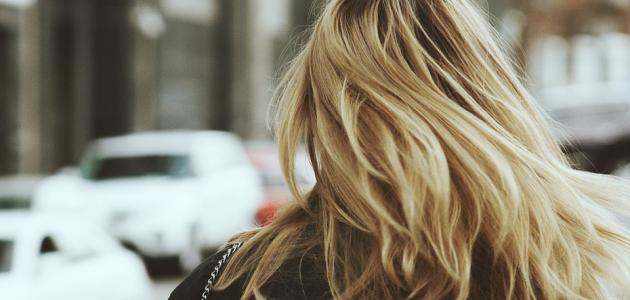 طريقة صبغ الشعر أشقر