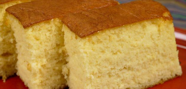 طريقة ومكونات الكيكة العادية