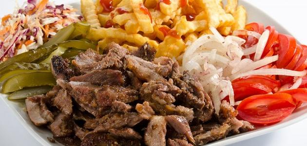 طريقة ومكونات شاورما اللحم