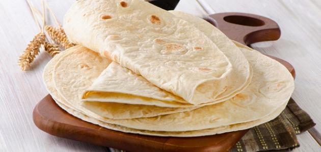 طريقة ومكونات خبز التورتيلا