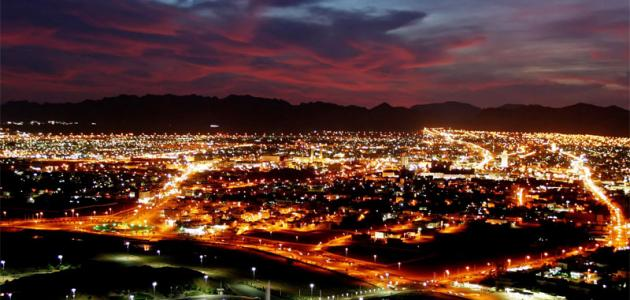 المدن السعودية