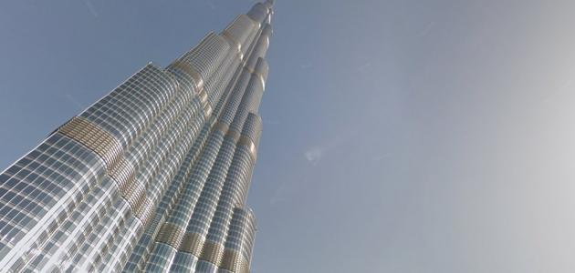 كم عدد طوابق برج خليفة موضوع