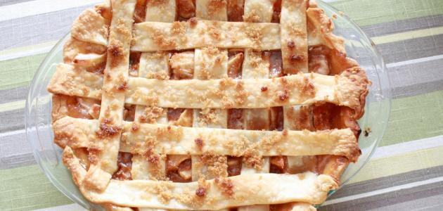 طريقة ومكونات فطيرة التفاح
