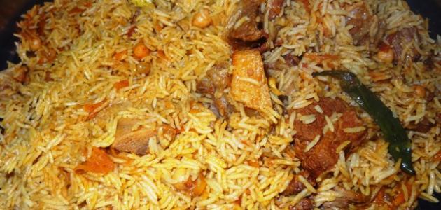 عمل أرز البخاري