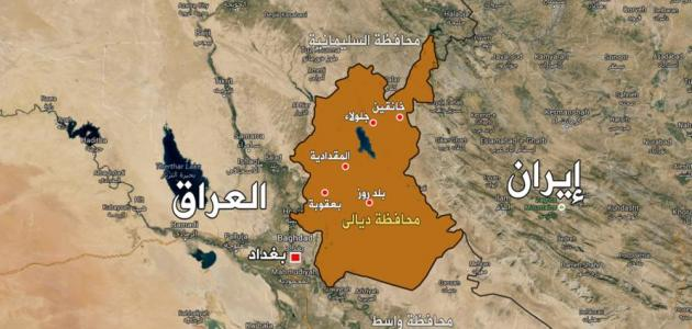 أين تقع محافظة ديالى