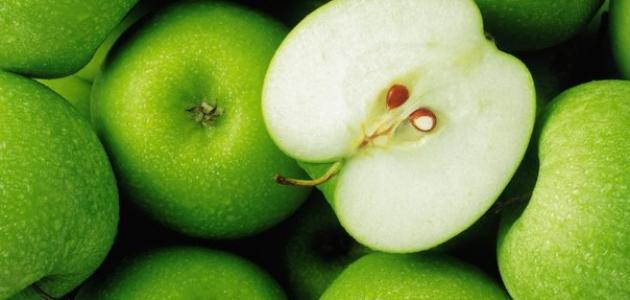 فوائد التفاح الأخضر للرجيم