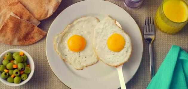 طريقة ومكونات بيض العيون