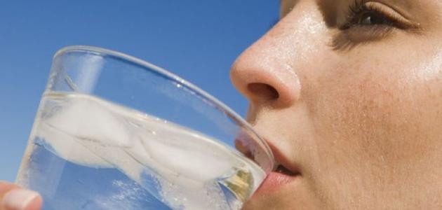 فوائد الماء البارد للوجه