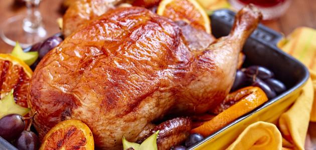 صينية دجاج بالفرن