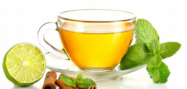 فوائد الشاي الأخضر مع الليمون