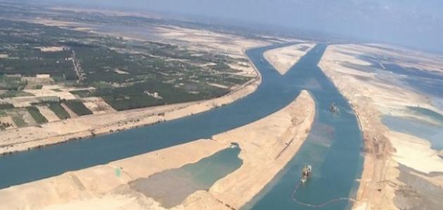كم طول قناة السويس الجديدة