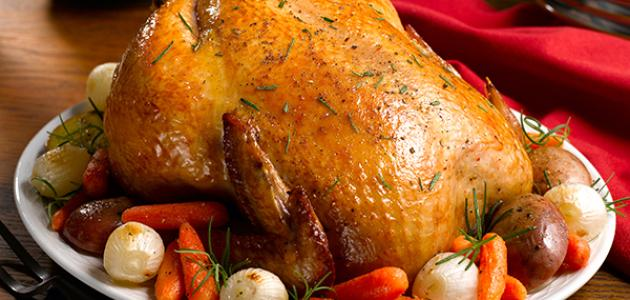 وصفات دجاج مشوي