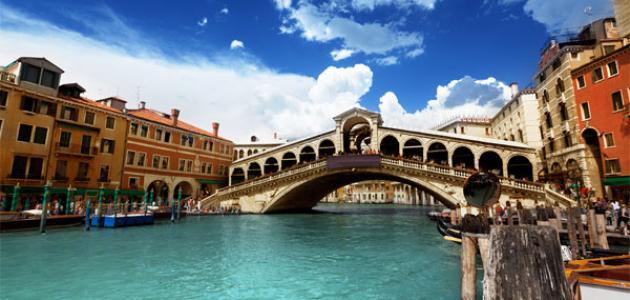 مدينة البندقية في إيطاليا