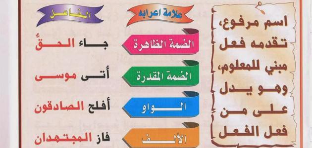 تعلم قواعد اللغة العربية