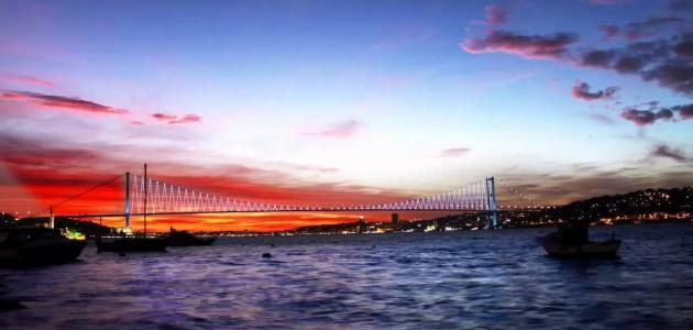 جسر تركيا