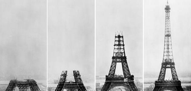 كم طول برج إيفل