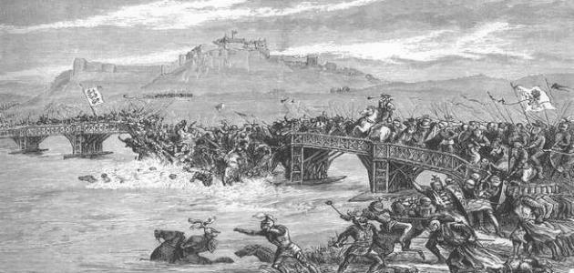 من هو قائد المسلمين في معركة الجسر