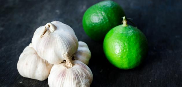 أضرار خلطة الثوم والليمون للتنحيف