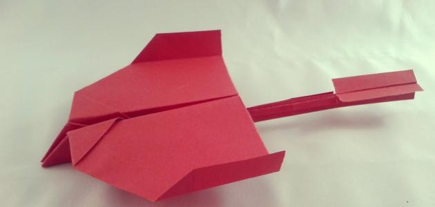 طريقة صنع طائرة ورقية لا