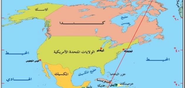 دول قارة أمريكا موضوع