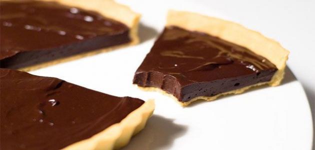 طرق عمل تارت الشوكولاتة