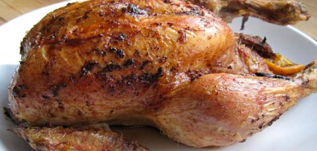 كيفية تحضير دجاج مشوي للرجيم