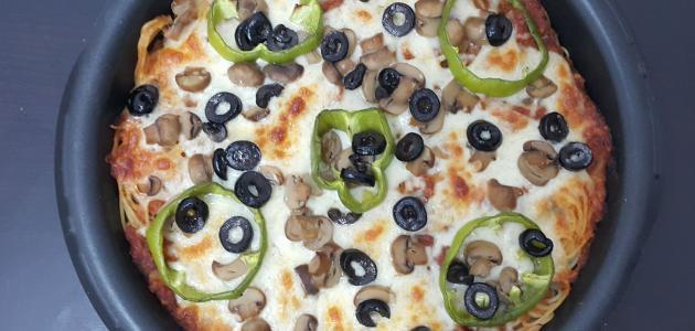 طرق عمل معكرونة البيتزا