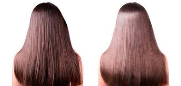 طريقة تمليس الشعر