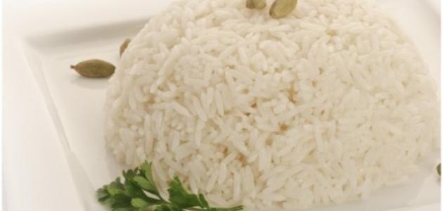 طريقة الأرز الأبيض